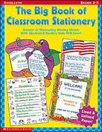 The Big Book of Classroom Stationery: Grades 2-3