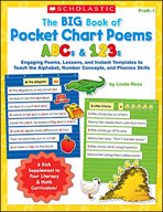The Big Book of Pocket Chart Poems: ABCs and 123s (Enhance