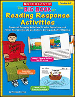 The Big Book of Reading Response Activities (Grades 4-6) (