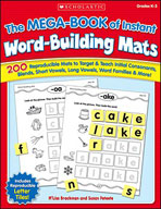 The MEGA-BOOK of Instant Word-Building Mats (Enhanced eBook)