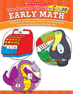 Turn-to-Learn Wheels in Color: Early Math (Enhanced eBook)