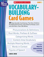 Vocabulary-Building Card Games: Grade 5 (Enhanced eBook)