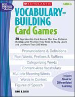 Vocabulary-Building Card Games: Grade 6 (Enhanced eBook)