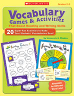 Vocabulary Games and Activities That Boost Reading and Wri