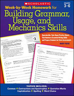 Week-by-Week Homework for Building Grammar, Usage and Mech
