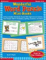 Wonderful Word Puzzle Mini-Books