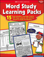 Word Study Learning Packs (Enhanced eBook)