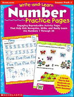 Write-and-Learn Number Practice Pages (Enhanced eBook)