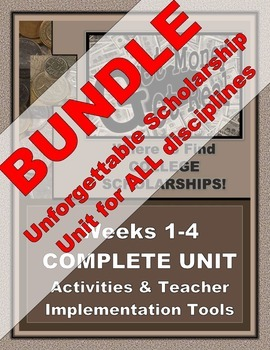 "SCHOLARSHIP UNIT - BUNDLE -  ""Get Money: Get Real"" for ALL"