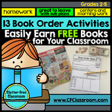 BOOK ORDER ACTIVITIES | BOOK CLUB | LITERATURE CIRCLES  |