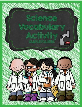 SCIENCE VOCABULARY ACTIVITY
