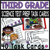 3rd GRADE SCIENCE TASK TEST PREP and SCOOT GAME SET