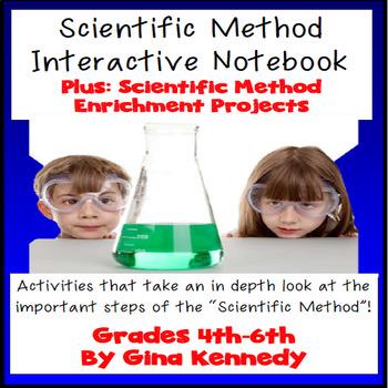 Scientific Method Complete Interactive Notebook! Activitie