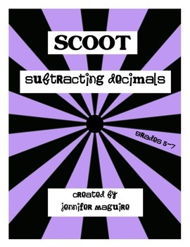 SCOOT - Subtracting Decimal Numbers