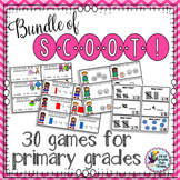 30 ELA Math and Science Scoot Games
