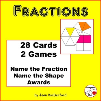 FRACTIONS   TASK CARDS   SCOOT Fractional Parts   Geometri