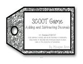 SCOOT Game - 5.NBT.B.7  Adding and Subtracting Decimals