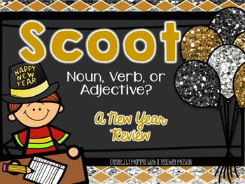 SCOOT New Year Noun, Verb, Adjective
