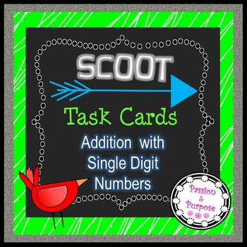 SCOOT Task Cards - Freebie                 Addition - Sing