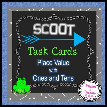 SCOOT Task Cards - Solve the Place Value Mystery to Name t