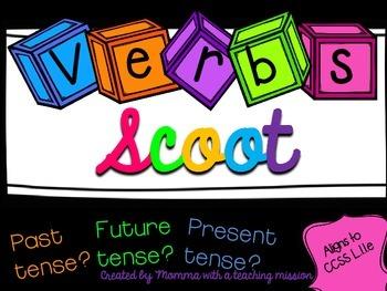 SCOOT Verbs Tense L.1.1.e