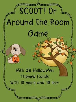 SCOOT! or Around the Room Hallowe'en