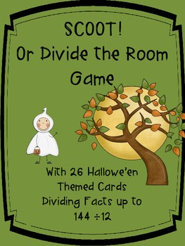 SCOOT! or Divide the Room Hallowe'en