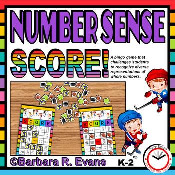 NUMBER SENSE: Numbers to 20, Number Sense Activity, Number