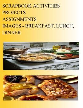 SCRAPBOOK ACTIVITIES PROJECTS ASSIGNMENTS - IMAGES - BREAK