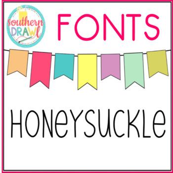 SD Honeysuckle Font