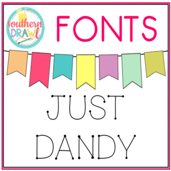 SD Just Dandy Font
