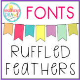 SD Ruffled Feathers Font