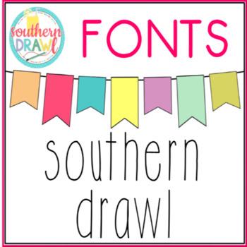 SD Southern Drawl Font