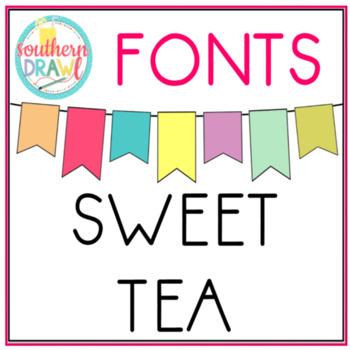 SD Sweet Tea Font