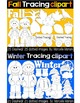 SEASONAL PICTURE TRACING CLIP ART BUNDLE PACK
