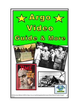 SECONDARY- Argo Movie Guide and many FREE resources