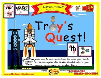"SECRET STORIES® Guided Reader- ""Troy's Quest!"" (w/ Phonics"