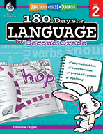 180 Days of Language for Second Grade