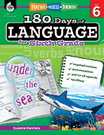 180 Days of Language for Sixth Grade