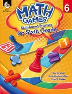 Math Games: Skill-Based Practice for Sixth Grade
