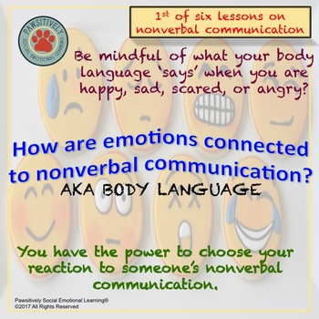 SEL - Experiencing NonVerbal Communication Lesson