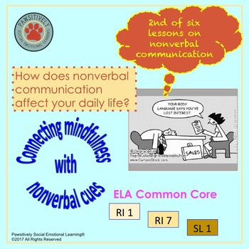 SEL - Improving Non Verbal Communication Lesson