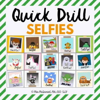 SELFIE QUICK DRILL {for any skill drill}