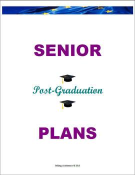 SENIOR Post-Graduation PLANS – Retain Students / Décor (Co
