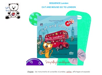 SEQUENCE CAT AND MOUSE GO TO LONDON avec matériel