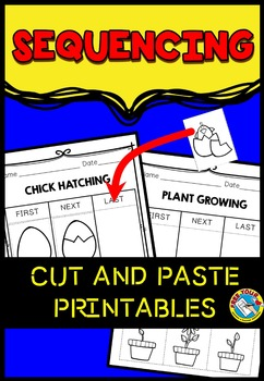 SEQUENCING PRINTABLES: CUT AND PASTE PRINTABLES