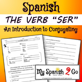 SER:  Spanish verb (an intro and conjugating)