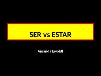 SER vs ESTAR