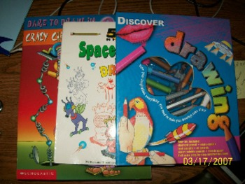 (SET OF 3)       DRAWING BOOKS