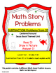 SEUSS SUBTRACTION MATH STORY PROBLEMS FROM 20 *READ.DRAW.A